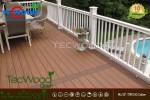 Công trình lát sàn gỗ cho ban công