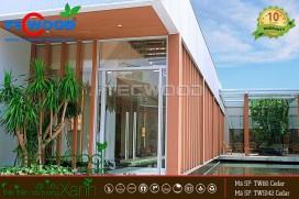 Căn hộ An Gia quận 7 - thiết kế giàn lam che nắng, trang trí ngoại thất