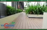 Sàn gỗ ngoài trời trang trí ban công trường