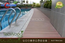 Căn hộ Opal Riverside - dự án lót sàn gỗ hồ bơi TecWood