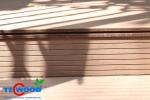 Thiết kế ghế băng gỗ ngoài trời từ gỗ nhựa