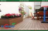 Sàn gỗ ngoài trời - Gỗ nhựa Nhật Bản
