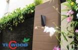 Gỗ nhựa ốp tường ngoài trời cao cấp TecWood