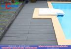 Sàn gỗ ngoài trời hồ bơi biệt thự tại Thảo Điền Quận 2