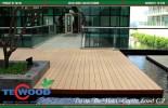 Sàn gỗ ngoài trời giá rẻ