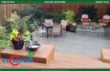Thi công sàn gỗ ngoài trời cho hạng mục sân vườn