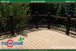 Xu hướng sử dụng sàn gỗ nhựa trong thiết kế không gian ngoại thất.