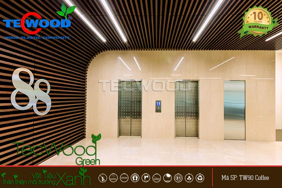 Trần gỗ công nghiệp TecWood