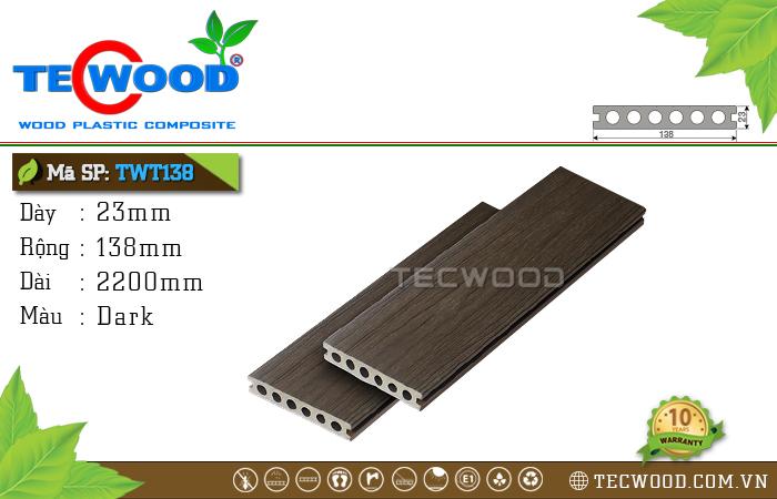 sàn gỗ ngoài trời TWT138