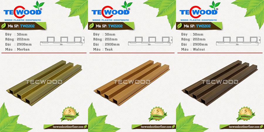 gỗ nhựa dùng cho ốp tường