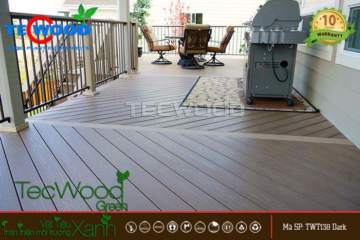 sàn gỗ ban công