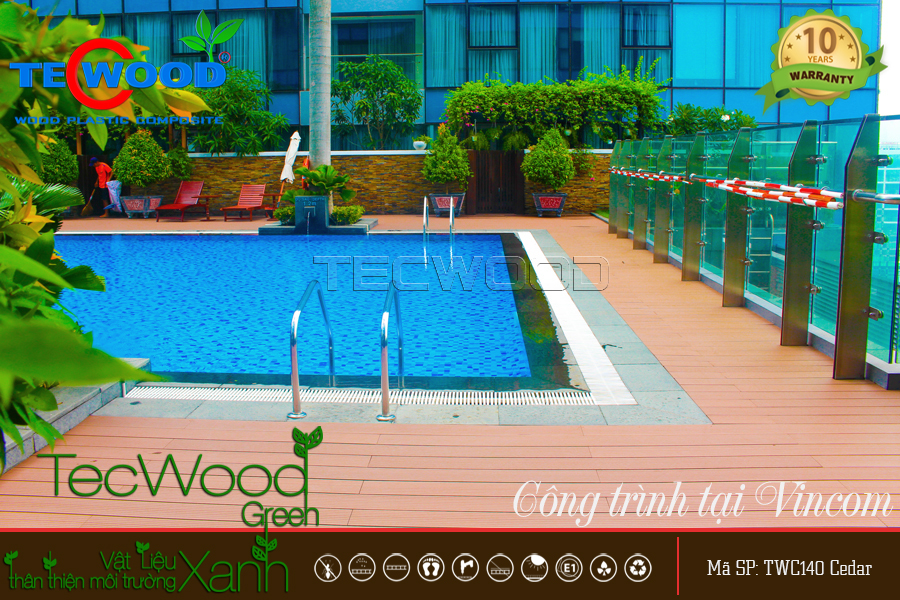 sàn gỗ tecwood TWC140 cedar