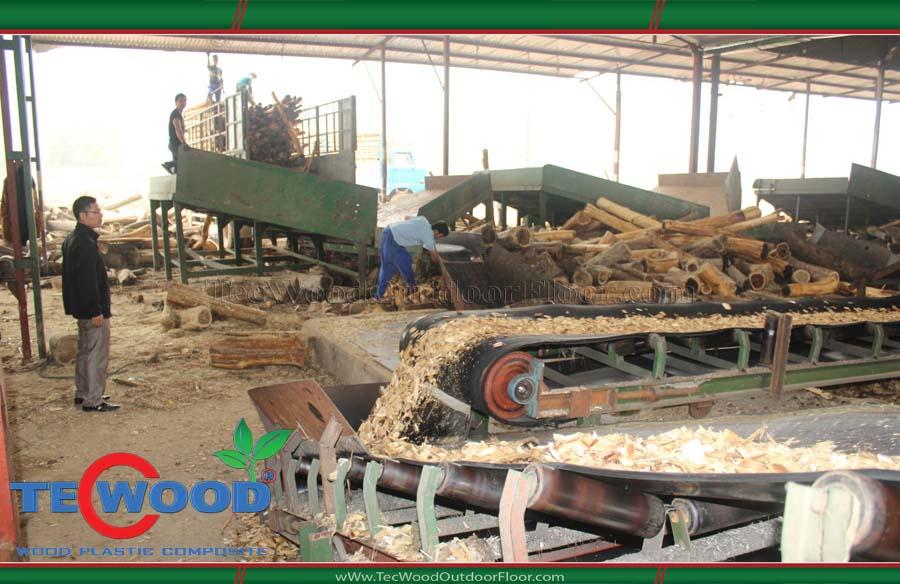 Công nghệ sản xuất sàn gỗ TecWood