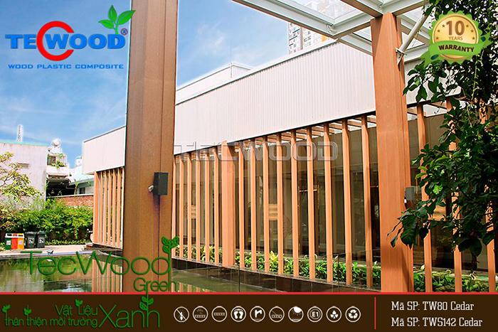 công trình gỗ nhựa an gia q7