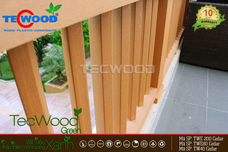 dự án sử dụng gỗ nhựa trang trí chung cư đức khải Q7
