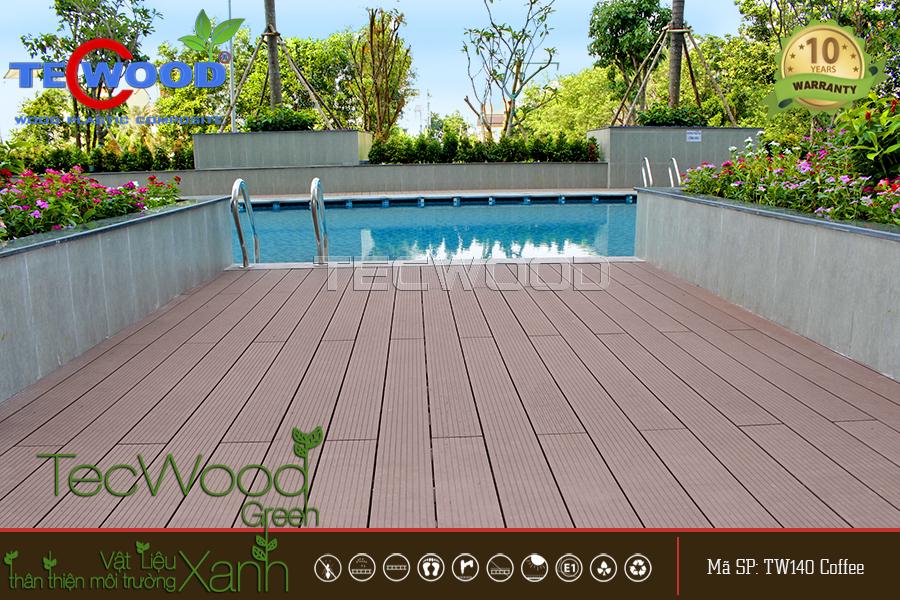 sàn gỗ tecwood tw140 coffee