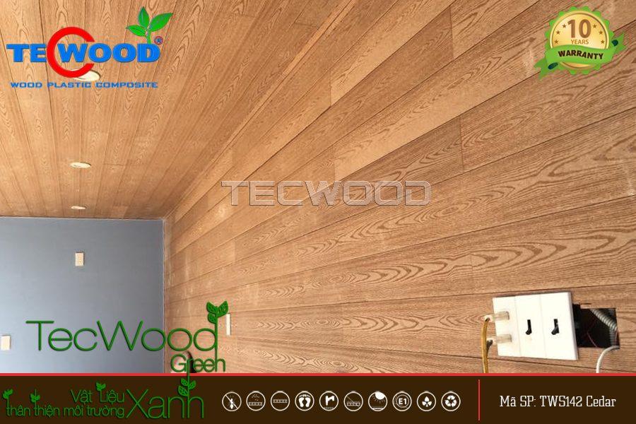 gỗ ốp trần 1