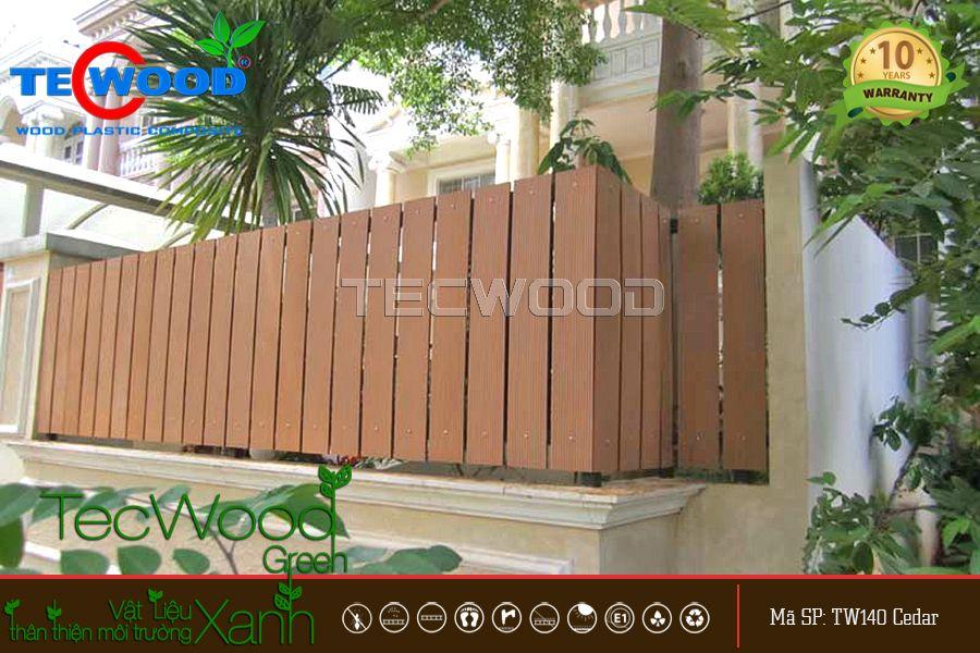 thiết kế hàng rào đẹp tân cổ điển