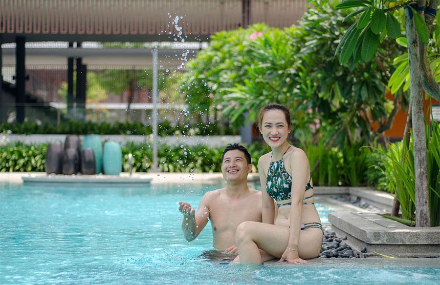 hồ bơi celadon