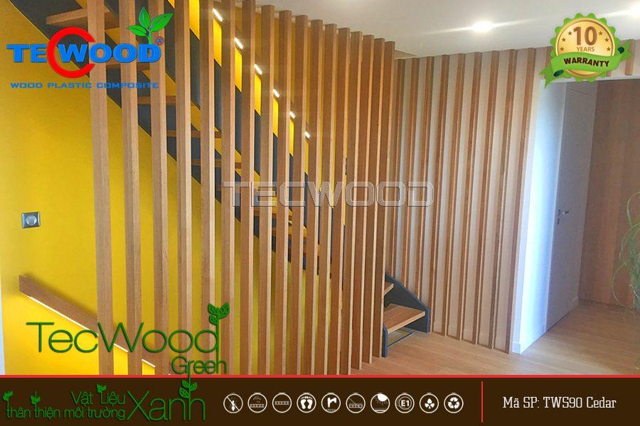 hình ảnh lam nhựa giả gỗ TecWood