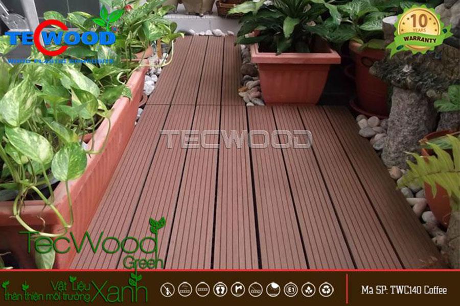 sàn gỗ lát ban công
