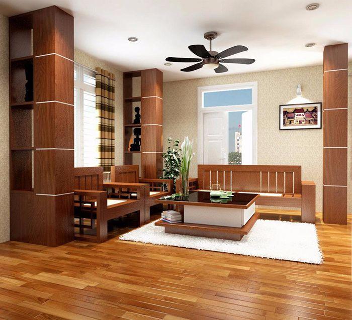 cách chọn sàn gỗ hợp phong thủy