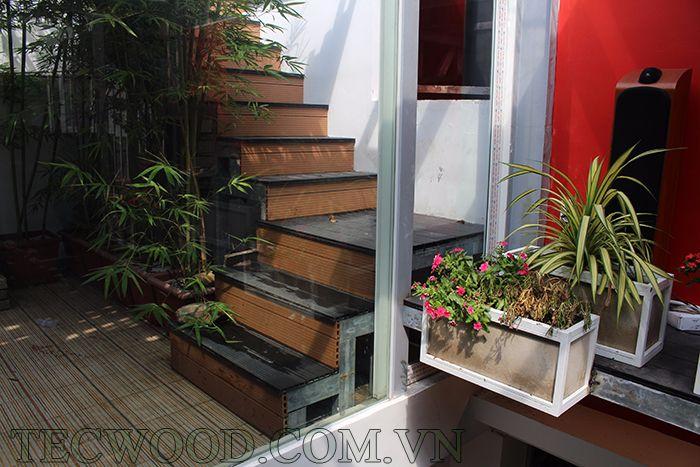 Mẫu sàn gỗ cho lắp đặt cầu thang