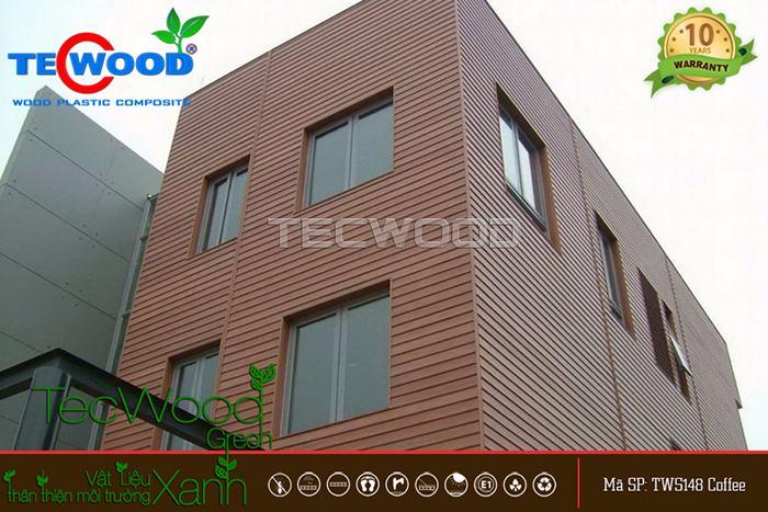 ốp gỗ nhựa cho tường nhà