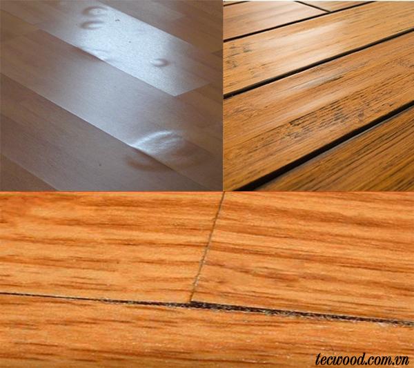 Cách xử lý sàn gỗ bị cong vênh, phồng rộp
