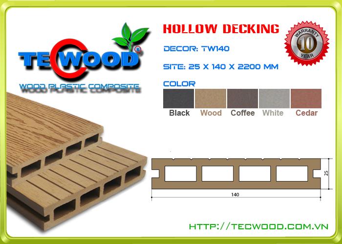 Sàn gỗ Tecwood TW140-Wood