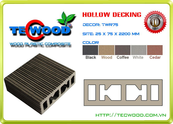 Thanh lam Tecwood TWR75