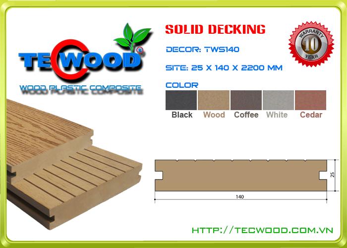 Sàn gỗ Tecwood TWS140-Wood