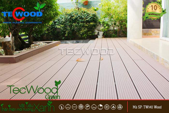 công trình lót sàn gỗ