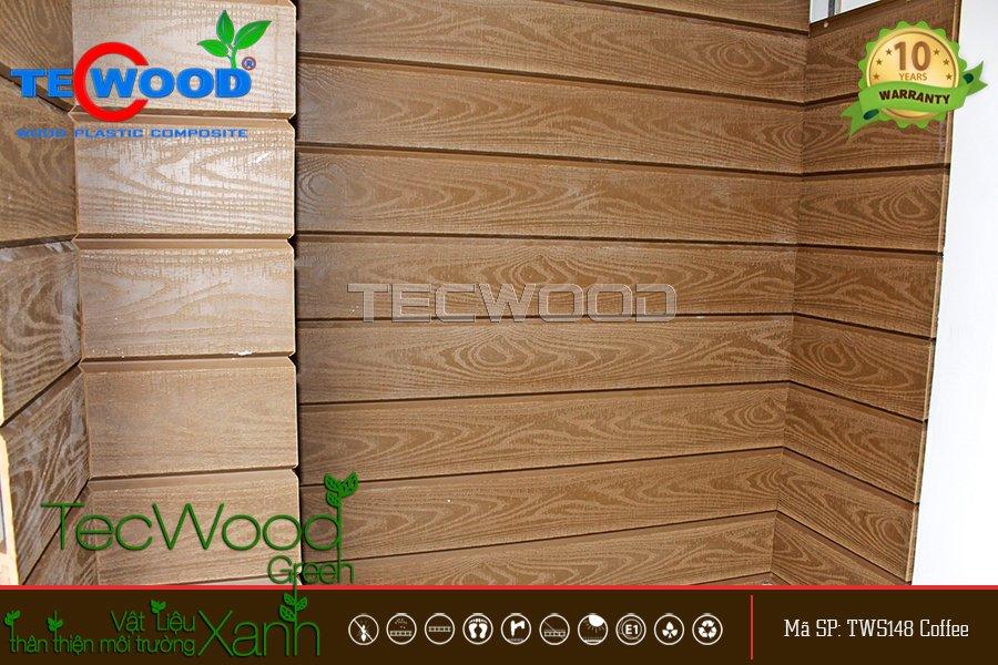 tấm ốp tường giả vân gỗ 3D