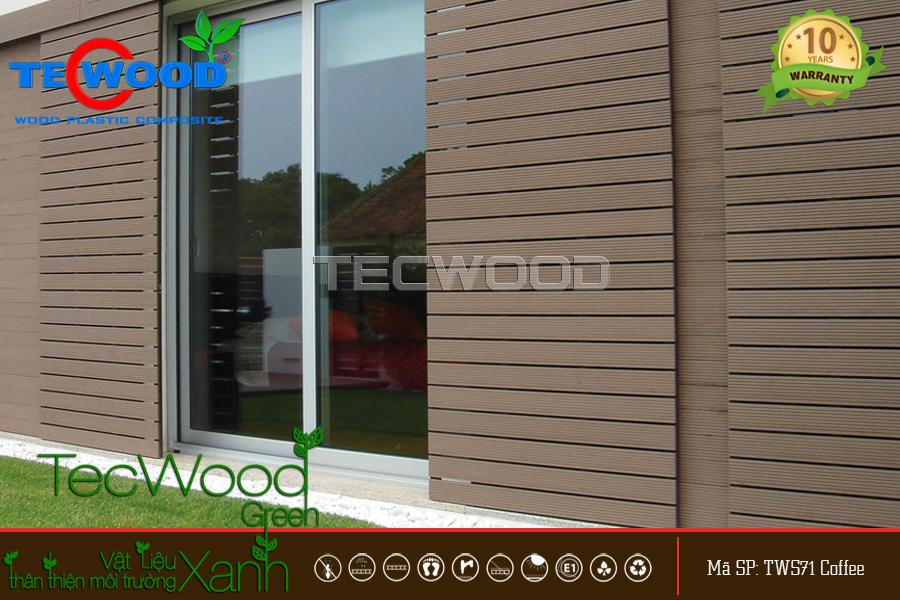 thanh gỗ nhựa tecwood
