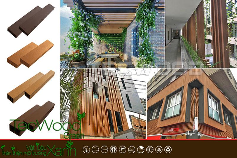 thanh lam gỗ nhựa tecwood