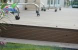 Sàn gỗ ngoài trời công trình Q7