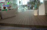 Sàn gỗ ngoài trời công trình quán cafe elle