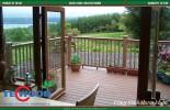 ván, sàn, gỗ nhựa, TecWood, lan can, hàng rào.