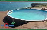 sàn gỗ lót hồ bơi, mẫu sàn gỗ lót hồ bơi