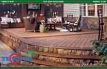 Mẫu sàn gỗ ngoài trời độc đáo