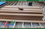 Thi công sàn gỗ ngoài trời cho hạng mục ốp ban công