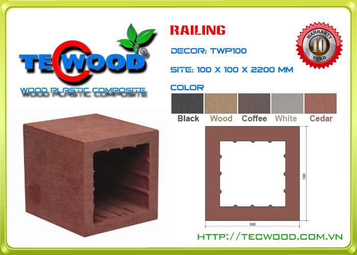 Trụ cột TecWood TWP100 1