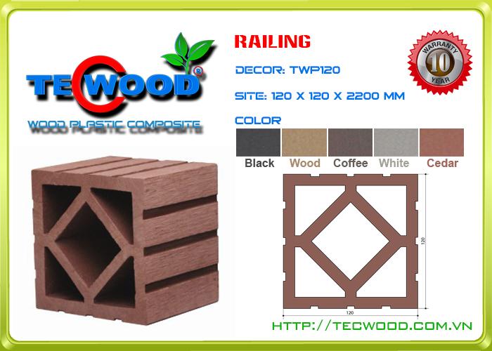 Trụ cột TecWood TWP120 2