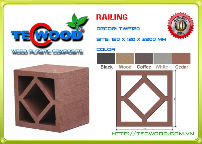 Trụ cột TecWood TWP120 3