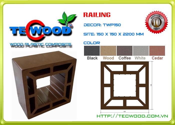 Trụ cột TecWood TWP150 1