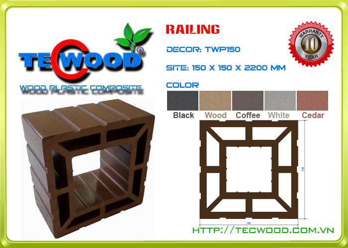 Trụ cột TecWood TWP150 2