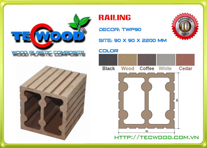 Trụ cột TecWood TWP90 1