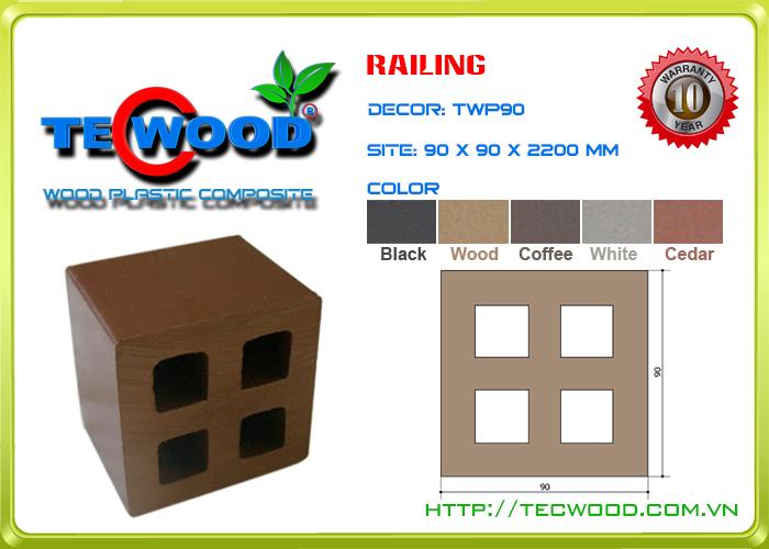 Trụ cột TecWood TWP90 2