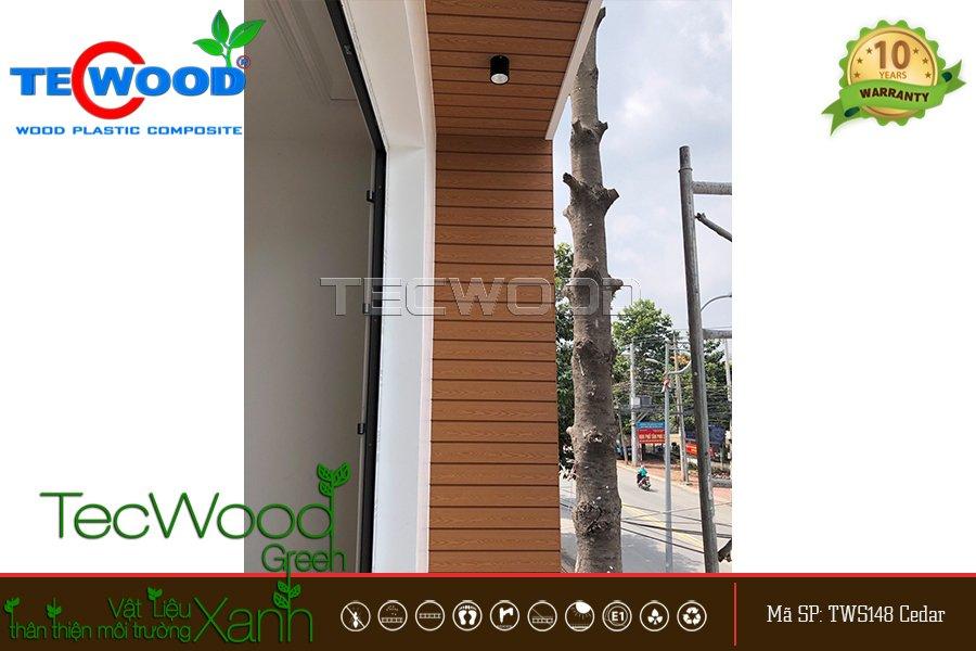 tấm gỗ nhựa ốp tường tws148